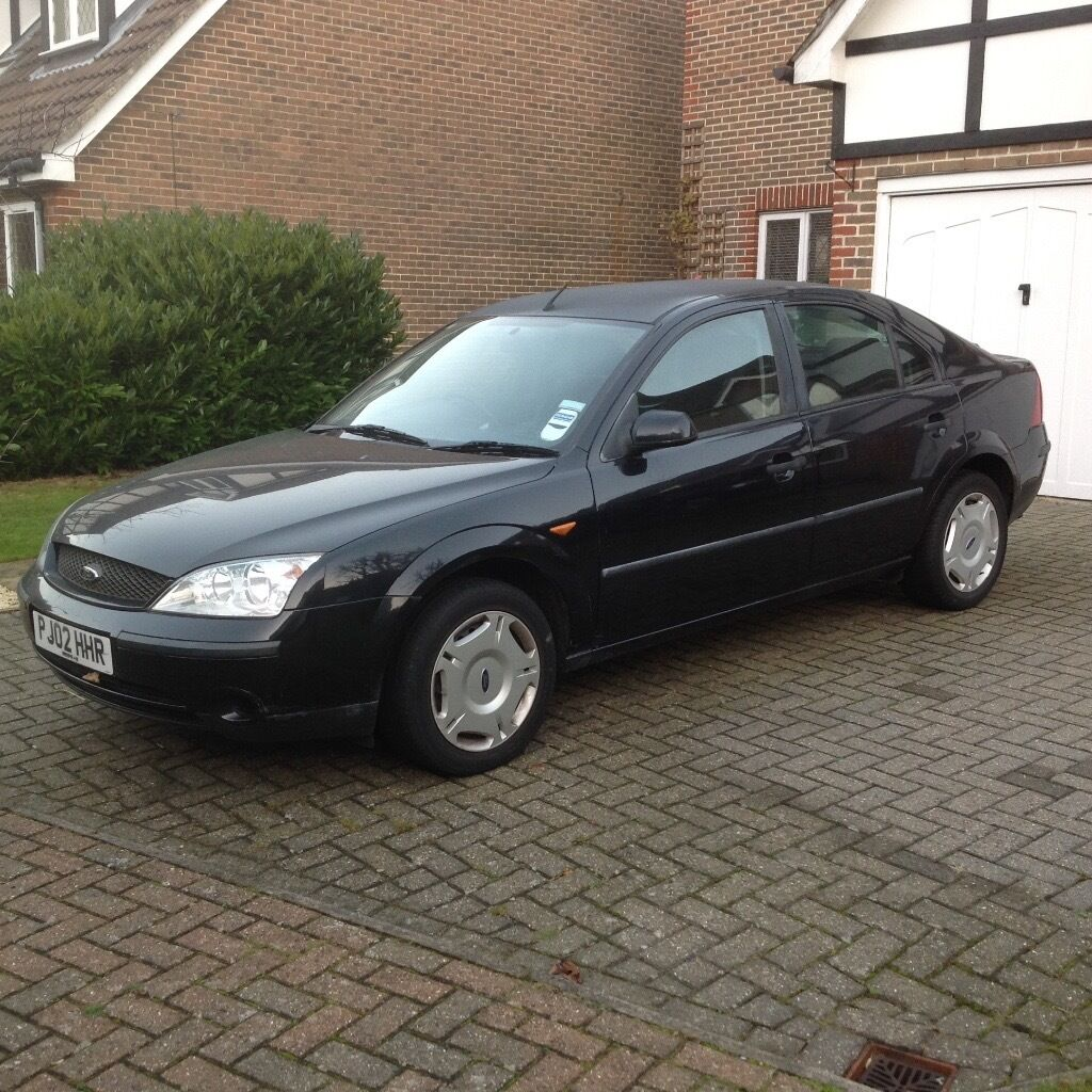 ford mondeo 1 8lx 2002 black 55k in orpington london gumtree. Black Bedroom Furniture Sets. Home Design Ideas