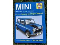 Haynes service and repair manual mini