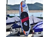 Costway UK 297 x 76 x 15 cm Inflatable Soft Stand up Surfing Board w/ Package