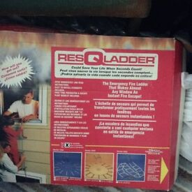 EMERGENCY RESCUE LADDER 15FT LENGTH METAL NEW IN BOX