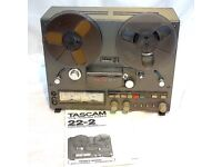 TASCAM 22-2 REEL-REEL TAPE DECK - VGC - BEAUTIFUL EXAMPLE - SERVICED - MANUAL - BOXED - £340