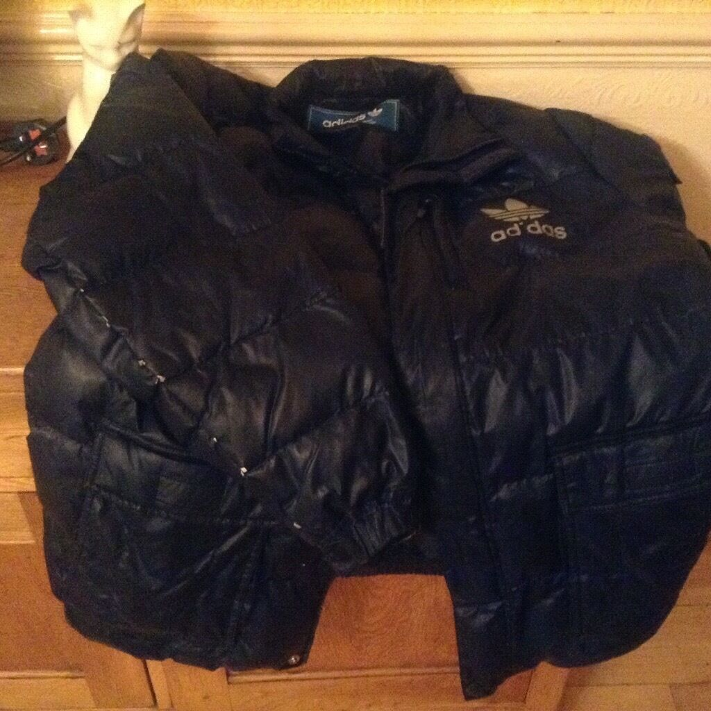 Adidas jacketin Liverpool, MerseysideGumtree - Adidas mens jacket good condition size large the I on adidas is missing on purpose its retro cost me £125 adidas shop Liverpool will take £15 ovno