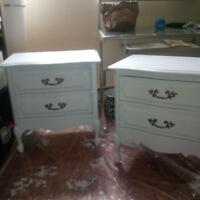 newly refurbished bedroom set for sale, one of a kind