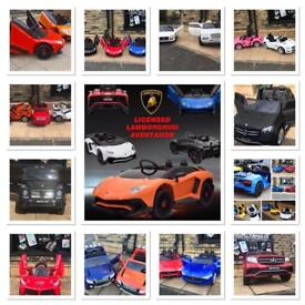 Large Selection Of Kids Ride-On Cars In Store,12v & 24v From £100 Parental Remote & Self Drive