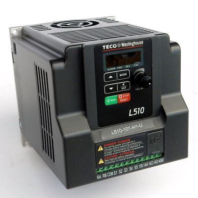 1 HP 115V 1PH INPUT 230V 3PH OUTPUT TECO VARIABLE FREQUENCY DRIVE L510-101-H1-U