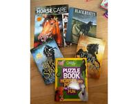 Various horse books