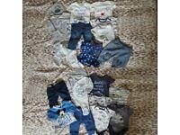 Boys 0-3months clothes
