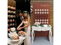 Donut Wall For Hire £50 wedding corporate event £50