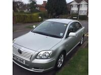 Toyota Avensis 2004 2.0 petrol manual very clean only £800
