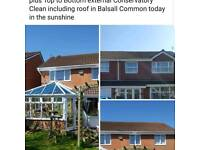 GUTTER CLEANING COVENTRY, NUNEATON and BEDWORTH