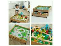 Reversible City and Train Table Set