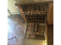 Intergrated Bosch dishwasher. Full working order selling due to having a new kitchen