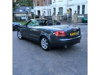 Audi A4 Cabrolet Dolphin Grey,very low mileage.