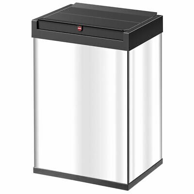 Hailo Waste Bin Big-Box Swing Size L 35 L Stainless Steel Rubbish Box 0840-111