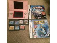 Nintendo Ds lite and gamss