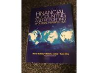 Financial accounting and reporting and global perspective