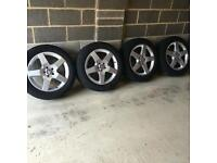 """19"""" Alloy wheels with Brand New Tyres Mercedes Ml Gl Viano Vito VW Golf Passat Audi A6"""