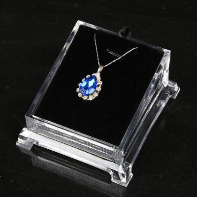 Acrylic Transparent Fashion Necklace Pendant Earring Display Holder Rack