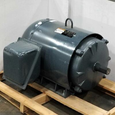 Lincoln 125 Hp 3600 Rpm Tefc 460 Volts 444ts Frame 3 Phase Motor Lm13547
