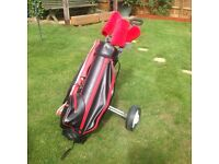 Howson Golf Set complete with Trolley - right hand Gents - ready to go!
