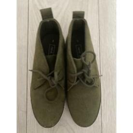 Next Khaki casual shoes