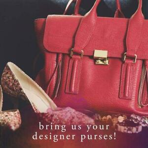 WE BUY YOUR GENTLY USED CLOTHING, SHOES,HANDBAGS AND ACCESSORIES