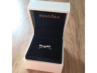 Pandora Bow ring size 50