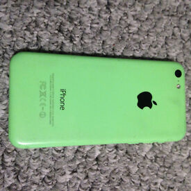 iphone 5c green no chips or cracks