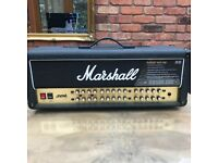 Marshall JVM410H 100 watt 4 channel guitar amp head & footswitch pedal jvm 410h jvm410-h amplifier