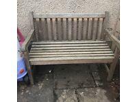 FREE garden bench