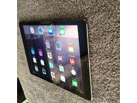 Ipad air wifi + celluar, 9.4inch retina display, 16GB swap decent laptop