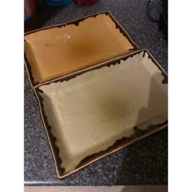 6 Rectangle Plate £1 each