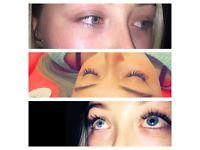 Luscious eyelash extensions