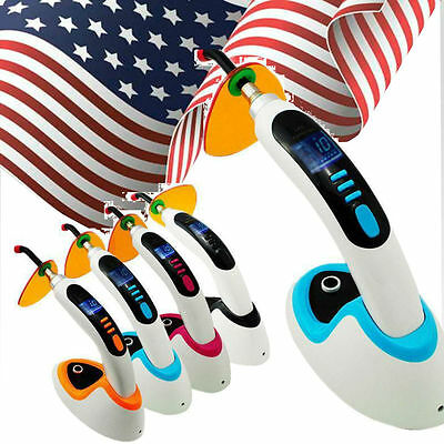 10w Wireless Cordless Led Dental Curing Light Lamp 2000mwwhitening Usa Shipping