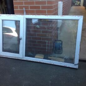 Multiply UPVC Double Glazed glass some in frames