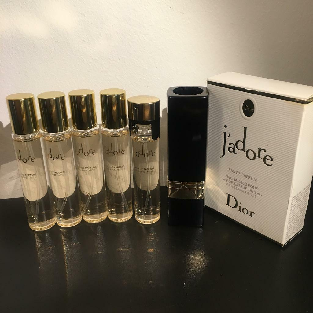 Dior Jadore Eau De Parfum Purse Spray Refills In Angel London