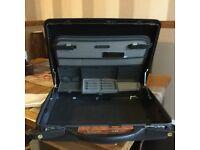 Briefcase , Samsonite , black , hardly used