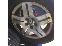 Vw golf gti ally wheels