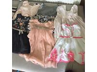 6 lovely girls dresses 1-2 years old