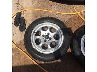"""15"""" mini one wheels"""