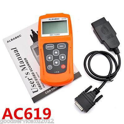 Portable Ac619 Obdii Obd2 Car Diagnostic Handheld Kit Scanner Elm327 Code Reader