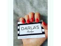 IBD Gel Nails and Brow Services at Darla's Beautique