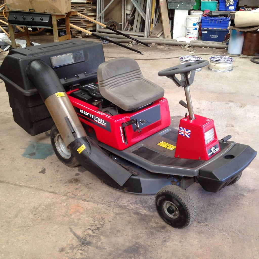 Murray Lawn Trimmers : Murray sentinel ride on mower in honiton devon