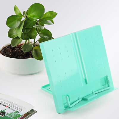 Tablet Holder Desktop Stand Cookbook Music Document Holder Pink Green Blue