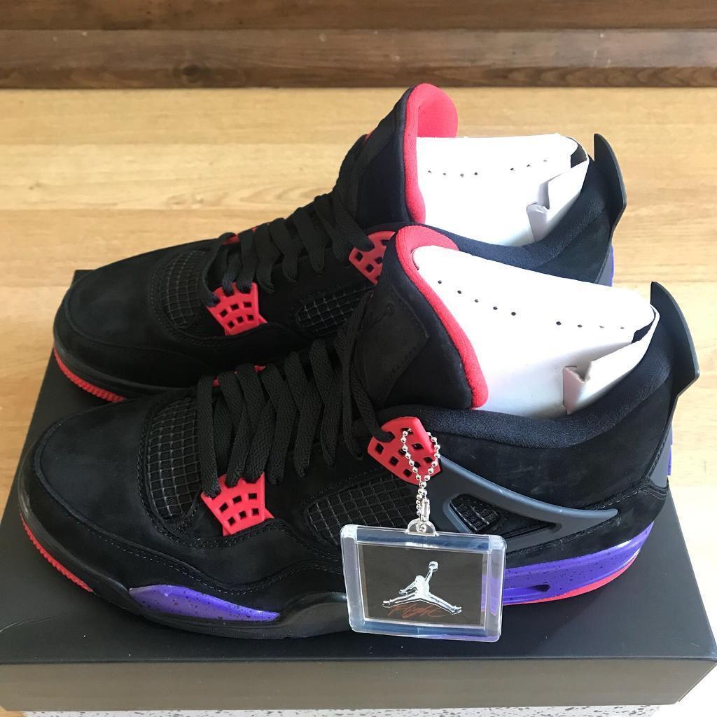 41b13a19af6 Nike Air Jordan 4 Raptors UK Size 8 for sale   in Clapham Common ...
