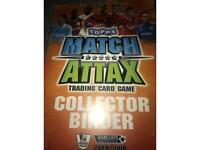 Collection of topps match attax from the 2009/10 premier league season