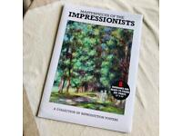 Brand New Masterpieces of Impressionists: A Collection of 8 Reproduction Posters