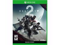 Destiny 2 for Xbox one, brand new sealed in box