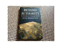 Beyond Authority Leadership in a Changing World