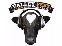 Festival Volunteer - at Valley Fest, the organic food and music festival in the Chew Valley